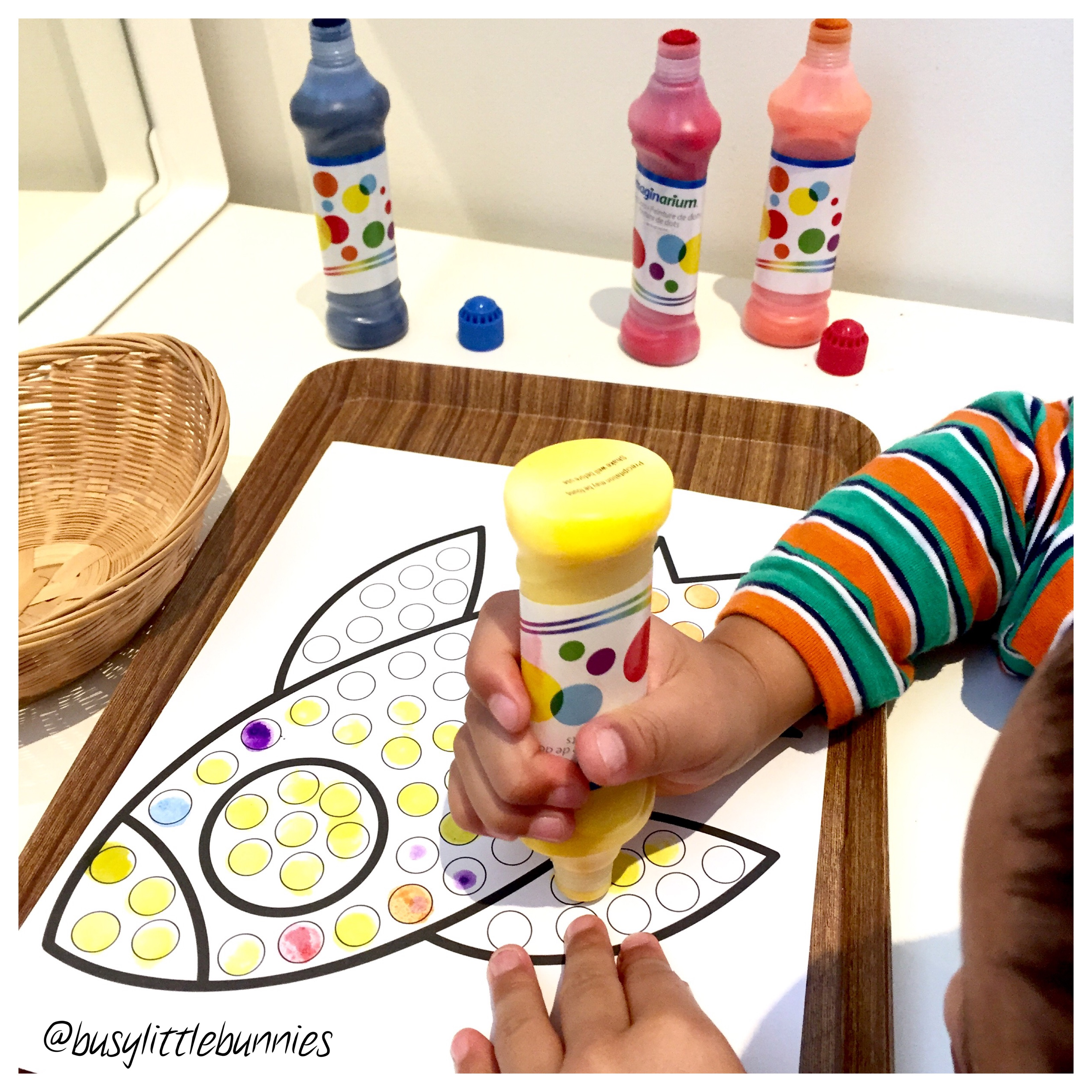 Open Ended Play Date – Busy Little Bunnies